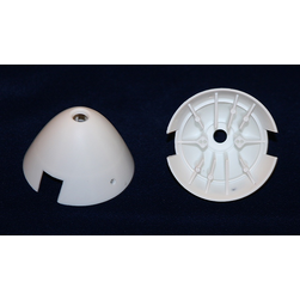 Turbo-Leichtspinner-Kappe 54,5 mm kurz