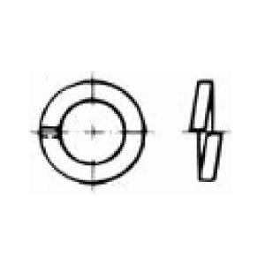 Zylinderschraube mit Innensechskant DIN 912 | M 4 x 40 | verzinkt