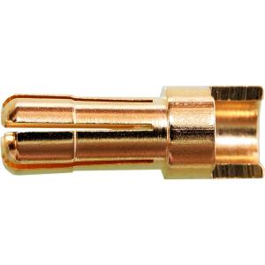5,5 mm Stecker, geschlitzt mit Lötmulde