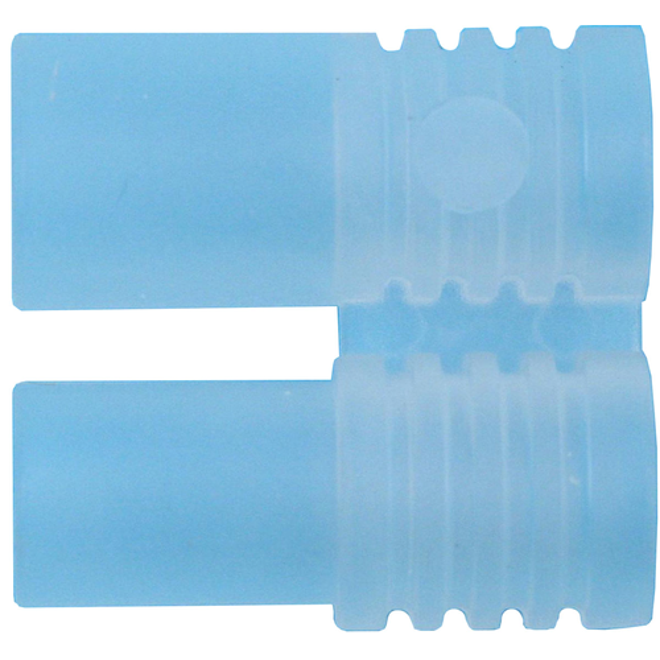 Kunststoff-Griff für Stecker / Buchse 3,5 mm klar
