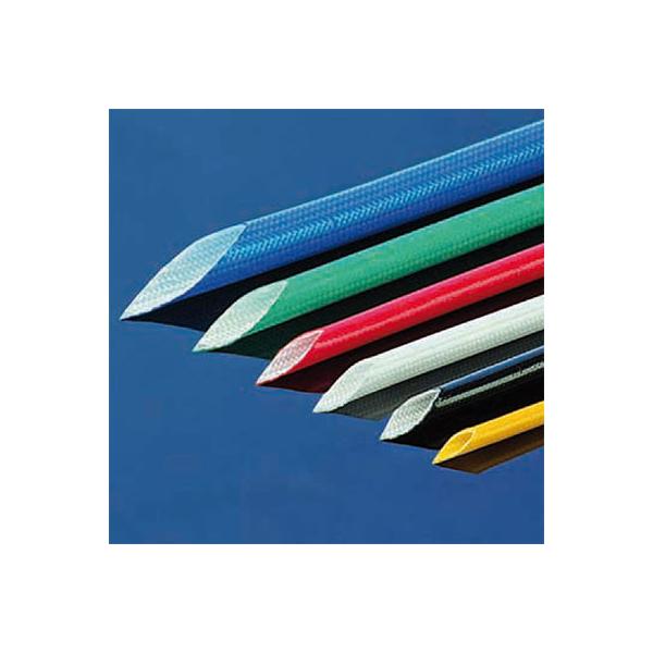 Glasfilament-Textilschlauch mit Acrylbeschichtung 2,0 mm schwarz