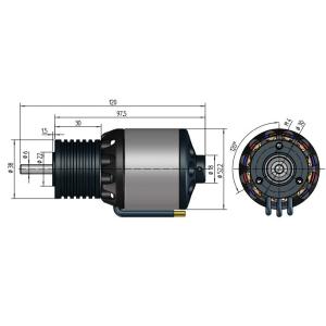 NT430-30-L | 14 Pol | 16 W