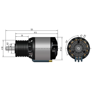 NT430-30-Z | 14 Pol | 10 W