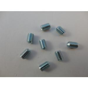 Gewindestift DIN 916 | M 4  x 6  Stahl 45 H - verzinkt