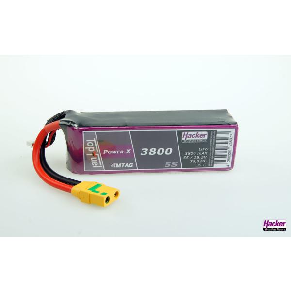 TopFuel LiPo 35C Power-X 3800mAh 5S MTAG
