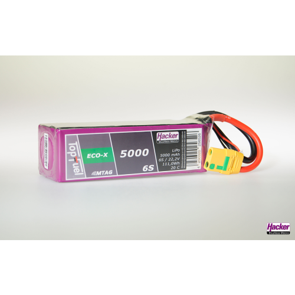TopFuel LiPo 20C ECO-X 5000mAh 6S MTAG