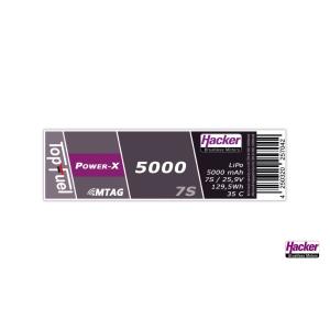 TopFuel LiPo 35C Power-X 5000mAh 7S MTAG