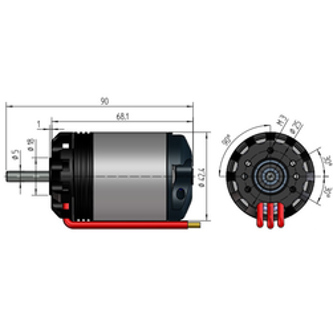 NT350-28-Z Triton | 14 Pol | 18 W | FES