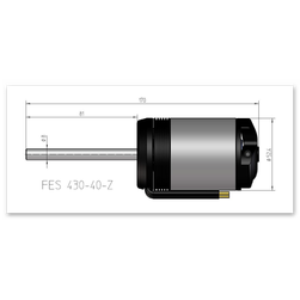 NT430-40-Z | 14 Pol | 10 W | FES