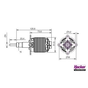 A50-10L Turnado V3 kv530 - Glider