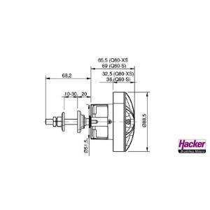 Q80-14XS kv209 Senstrol F3A