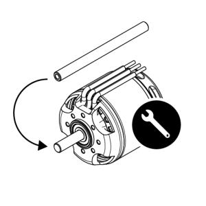 Motorumbau für Schleppkupplung