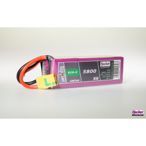 TopFuel LiPo 20C ECO-X 5800mAh 5S MTAG