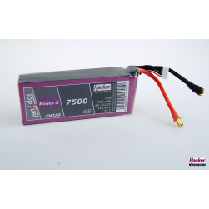 TopFuel LiPo 35C Power-X 7500mAh 6S MTAG