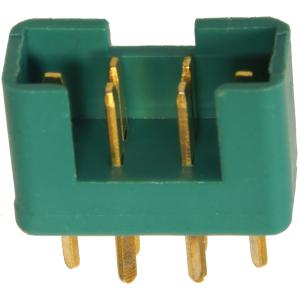 MPX-Hochstromstecker grn Stecker / male