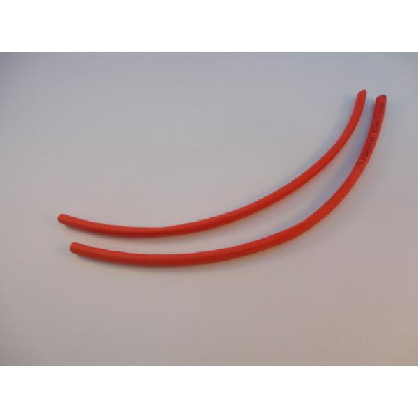 Schrumpfschlauch 4,8 mm rot
