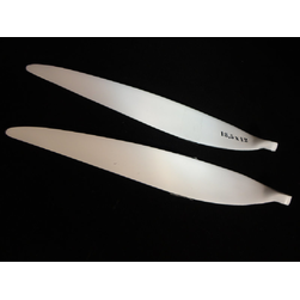 Folding Props 18,5 x 12  CFK white
